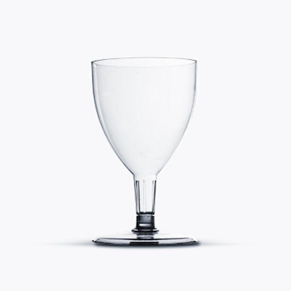 Taça 170ml 05 unid Vinho Cristal Plastilânia