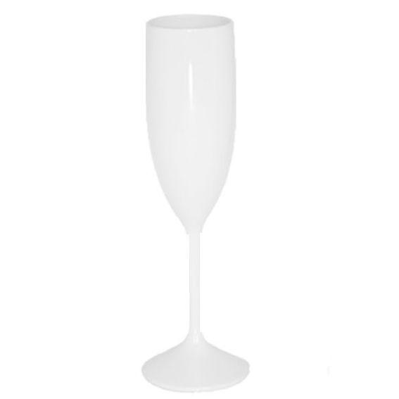 Taça 180ml Champanhe Leitoso Branco