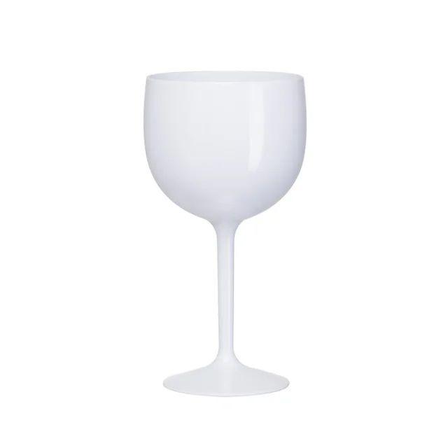 Taça Gin 580ml leitoso Branco