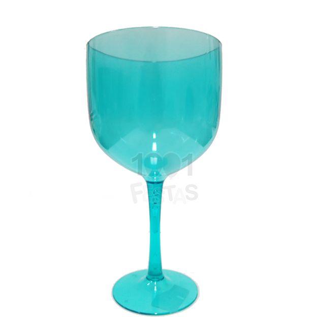 Taça Gin 580ml Verde Água Translúcido