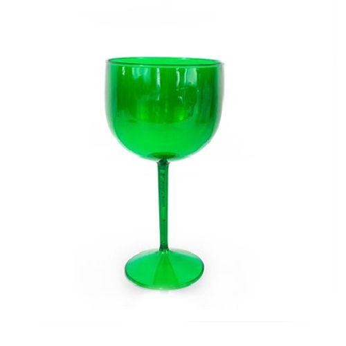 Taça Gin 580ml Verde Translúcido