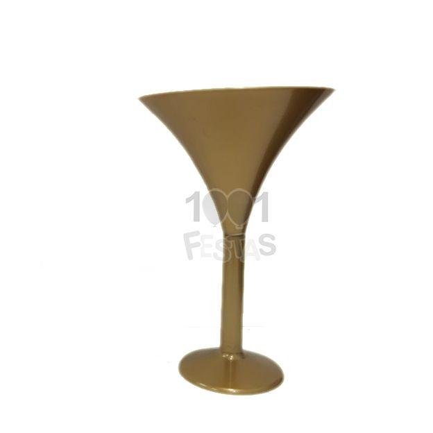 Taça Martini Dourado Leitoso