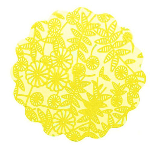 Tapetinho Amarelo N.09 C/100 unid. Vipel