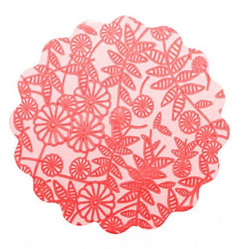 Tapetinho Vermelho N.09 C/100 unid. Vipel