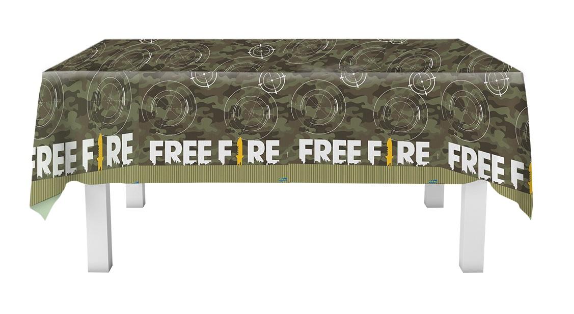 Toalha de Mesa  T.N.T.  Free Fire Festcolor