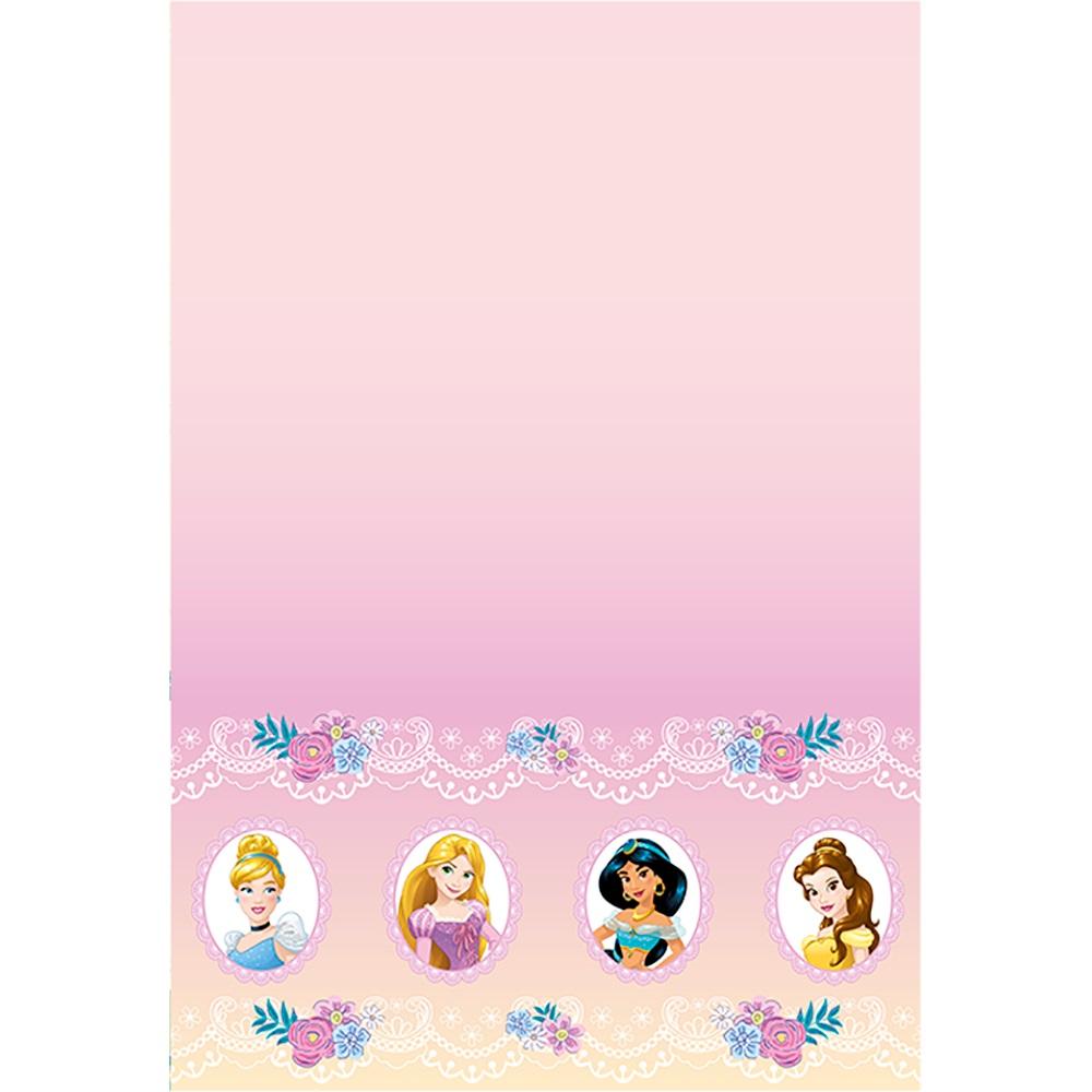 Toalha de Papel 2,20 m x 1,20 m Jardim das Princesas Regina