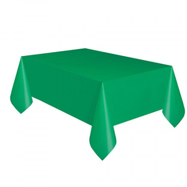 Toalha Plástica Verde 137cm x 274cm Silver Festas