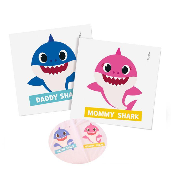 Transfer Camiseta Baby Shark C 02 unid Cromus