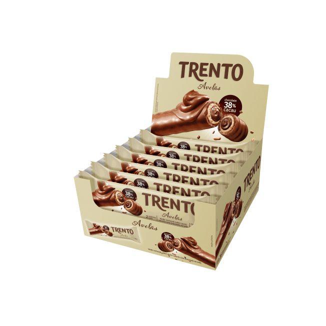 Trento Avelãs 16 unid Peccin