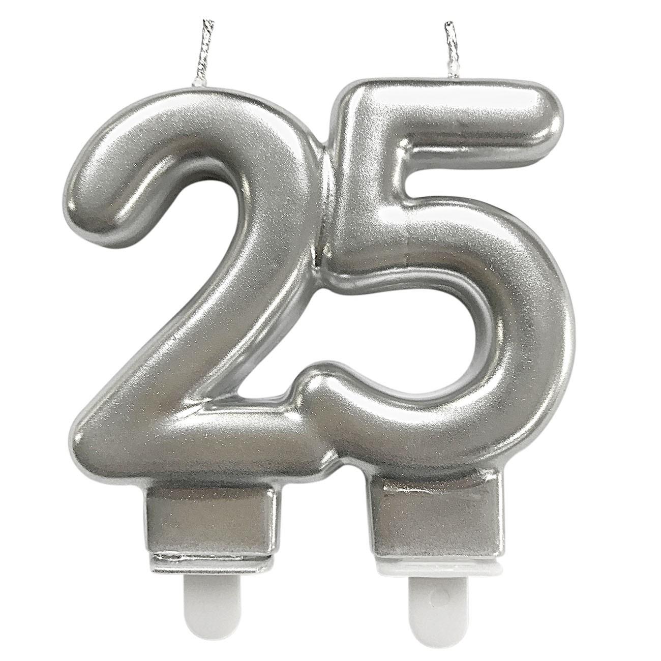 Vela Bodas Prata 25 Festivela Mundo Bizarro