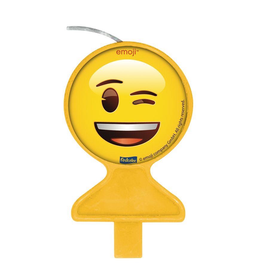 Vela Plana Emoji Festcolor