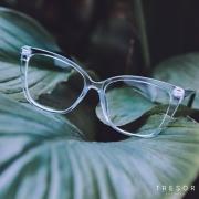 Óculos de grau TRESOR acetato - translucido azul