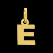 PINGENTE EM OURO 18K LETRA E - COD 30030990
