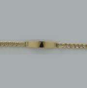 PULSEIRA EM OURO 18K GROMET CHAFA INFANTIL - cod 30029416