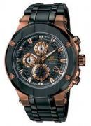 RELÓGIO CASIO MASCULINO EDIFICE CRONÓGRAFO GOLD LABEL EFX-500SP-1A - cod interno 030000615 - 111302136