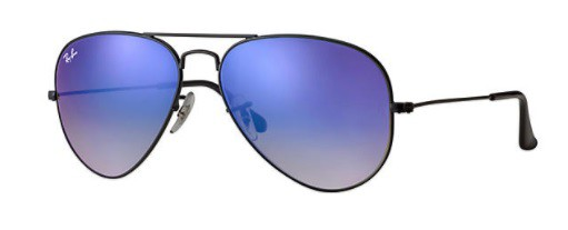 ÓCULOS DE SOL RAY-BAN UNISSEX AVIATOR FLASH LENSES GRADIENT RB3025L 002/4O58 - cod interno 011003933 - RB3025L 002/4O58