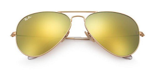 ÓCULOS DE SOL RAY-BAN UNISSEX AVIATOR FLASH LENSES RB3025L 112/9358 - cod interno 011004408 - RB3025L 112/9358