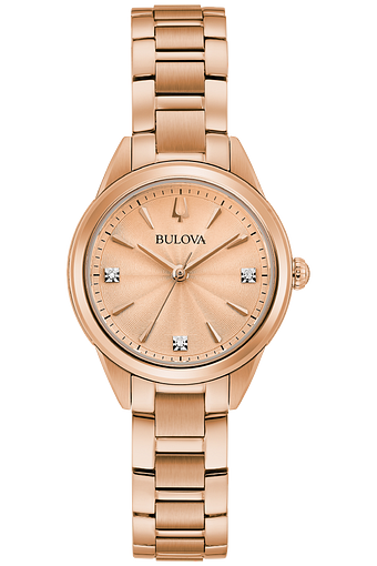 RELÓGIO BULOVA FEMININO DIAMONDS COLLECTION 97P151 - COD 30030401