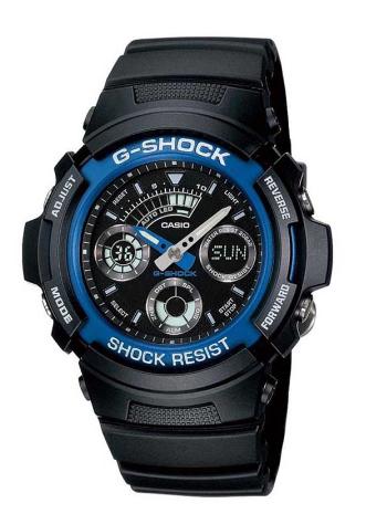 RELÓGIO CASIO MASCULINO G-SHOCK CRONÓGRAFO AW-591-2ADR - cod interno 030002330 - 111900224