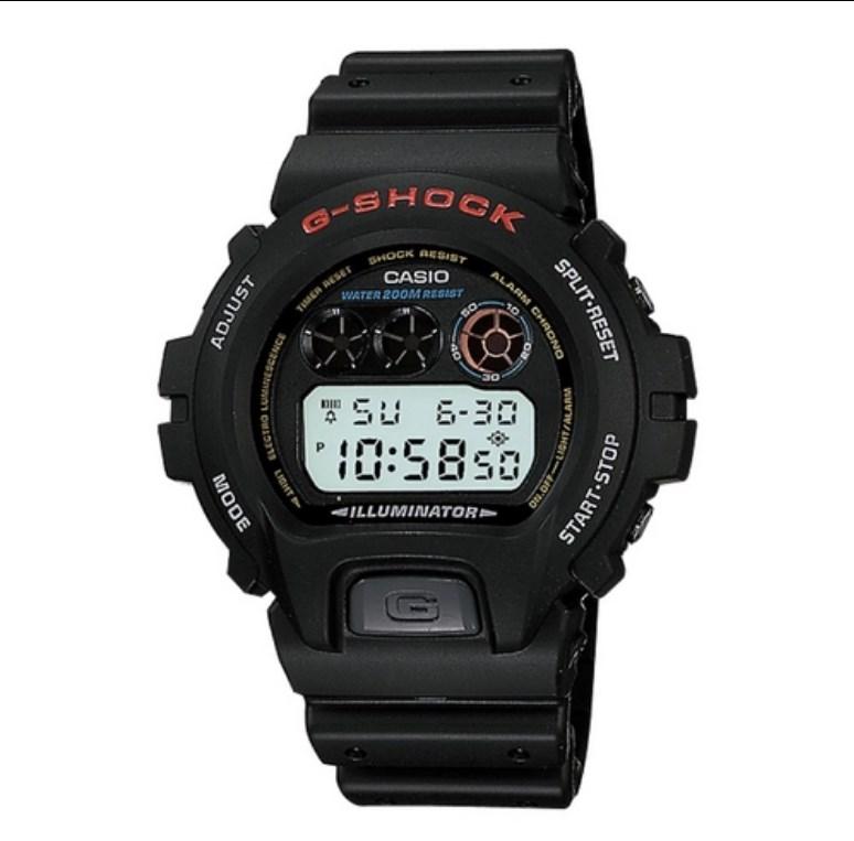 RELÓGIO CASIO MASCULINO G-SHOCK DW-6900-1VDR - COD 30002620