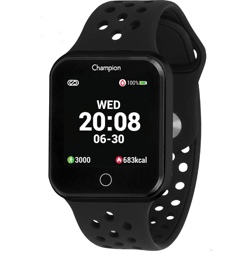 RELÓGIO CHAMPION UNISSEX SMART WATCH PRETO CH50006P -Cod Interno 030029331