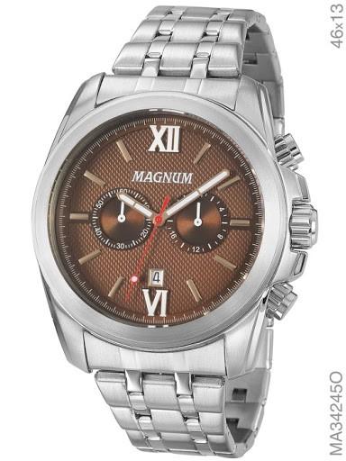 RELÓGIO MAGNUM MASCULINO MA34245O - cod interno 030017719 - MA34245O