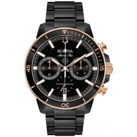 Relógio Masculino Bulova Marine Star Cronógrafo 98B302N - cod 30030402