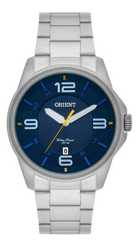 Relógio Orient Masculino Prata MBSS1288-D2SX