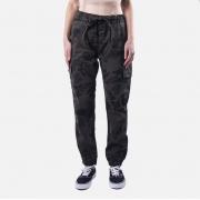 Calça Feminina Jogger Black Jeans Cargo