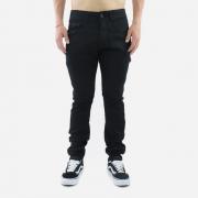 Calça Masculina Black Jeans Skinny Sarja