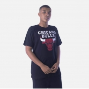 Camiseta Nba Logo Chicago Bulls