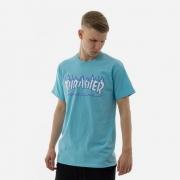 Camiseta Thrasher Flame Logo Sky