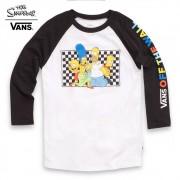 Camiseta Vans X The Simpsons Family Raglan