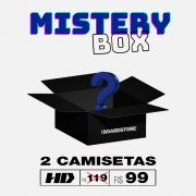 Mistery Box - 2 Camisetas Hd