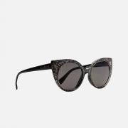 Oculos Evoke Super Cat T01 Glitter Temple Black Sh