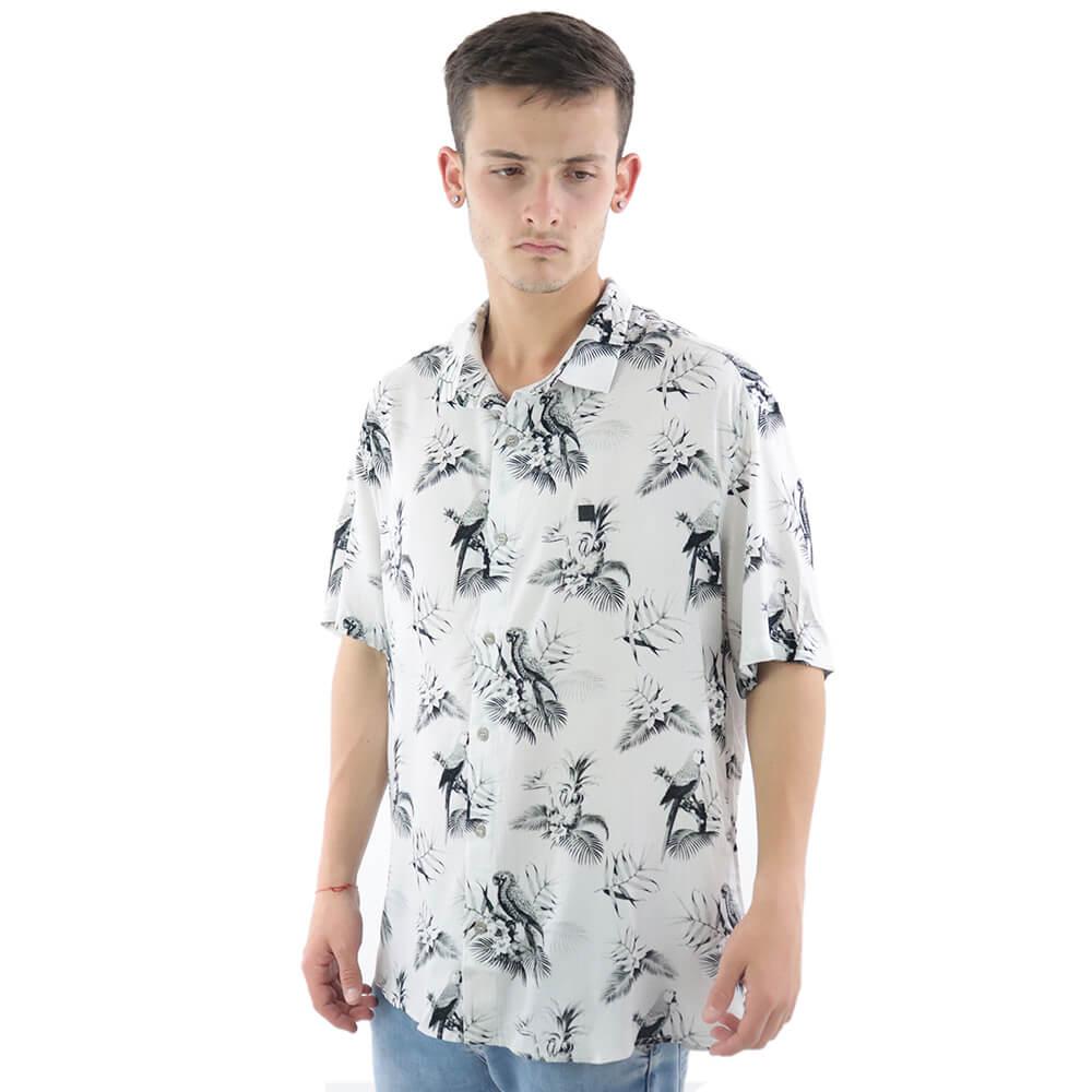 Camisa Fressurf De Botão Birds