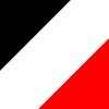 Preto/Branco/Vermelho