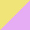 Rosa Gliter/Amarelo