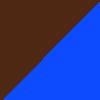Azul/Marrom