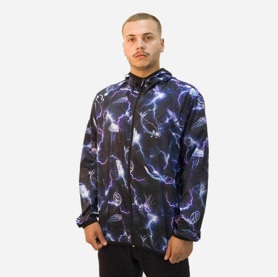 Jaqueta Lost Windbreaker Eletric Storm