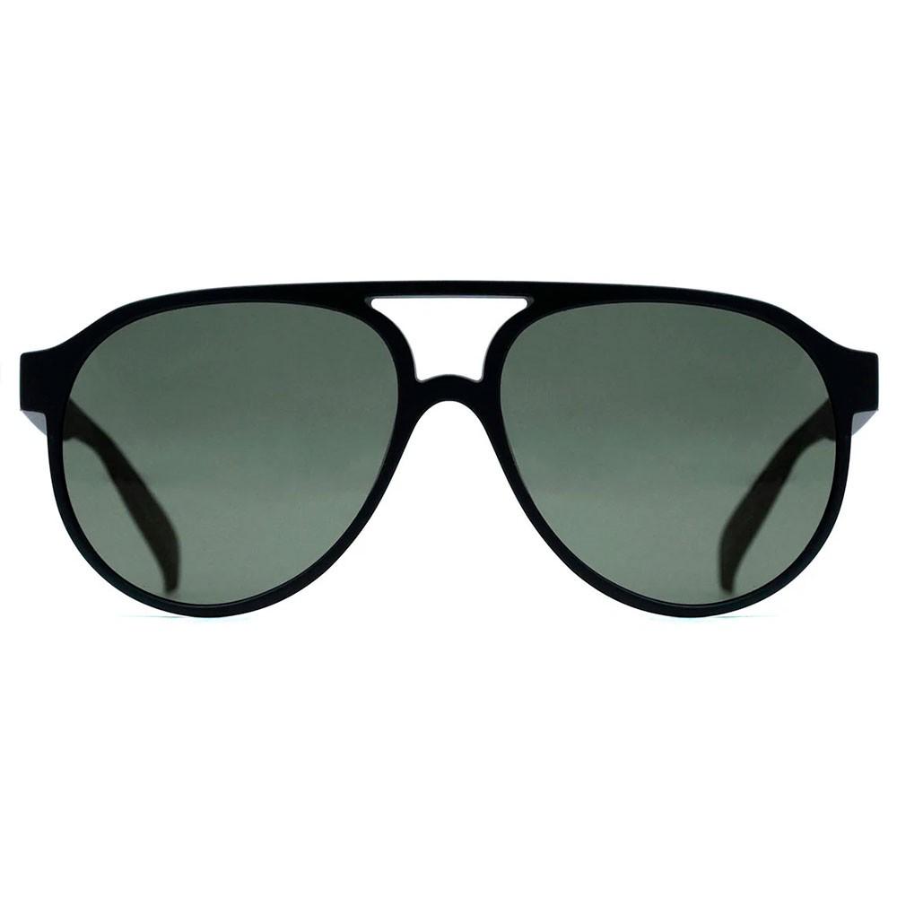 Oculos Evoke Evk 25 A12s Black Matte - Gold Blue