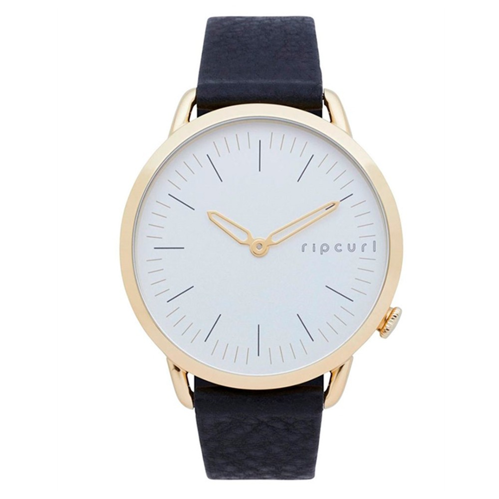 Relogio Rip Curl Ultragirl Gold Leather White