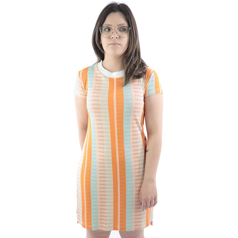Vestido Dress To Est Listras Mix