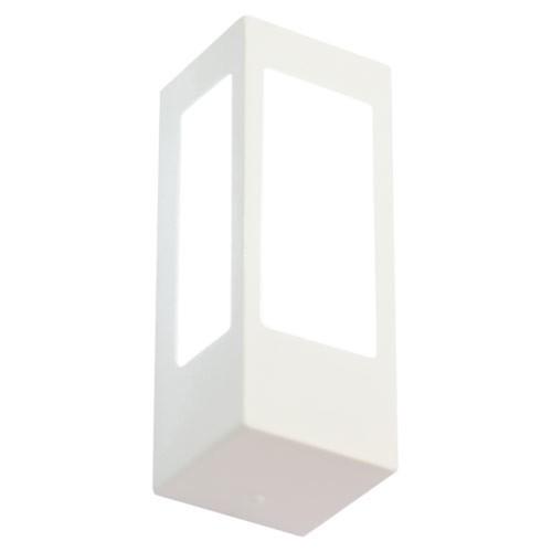 Arandela Externa Alumínio AE-106 1xE27 20W Branco Felluz