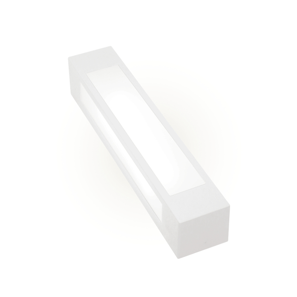 Arandela Externa Alumínio AE-108 2xE27 20W Branco Felluz