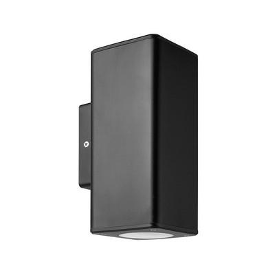 Arandela Ledvance Aplique Dual Cylinder Black Osram