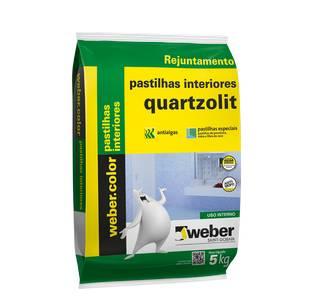Argamassa para Pastilha de Vidro Interna Branco 5kg Quartzolit