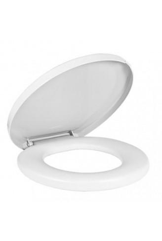 Assento Sanitário Almofadado Comfort Branco Amanco