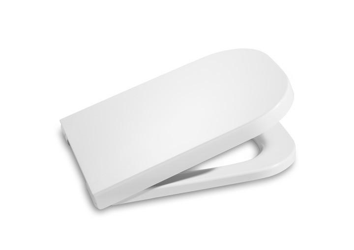 Assento Sanitário Termofixo com Queda Amortecida Gap Branco Roca