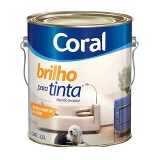 Brilho para Tinta 3,6 Litros Coral